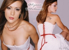 Wallpapers Celebrities Women alyssa_milano