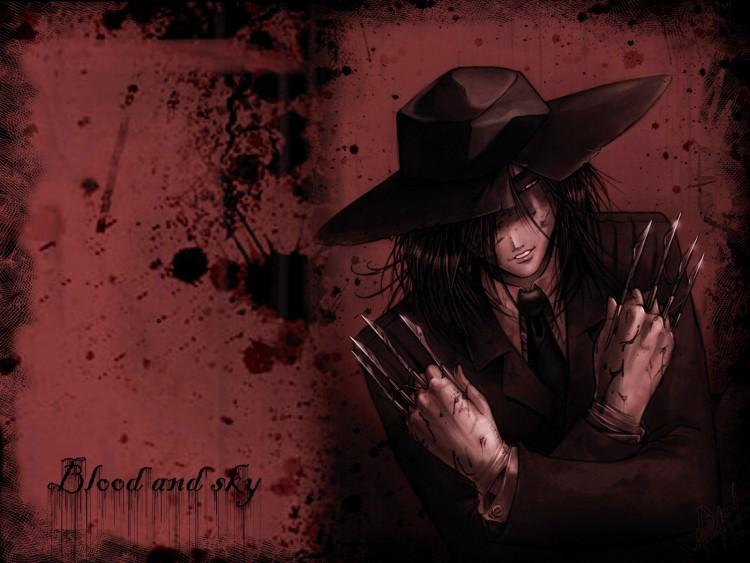 Fonds d'écran Manga Bloody blood and sky