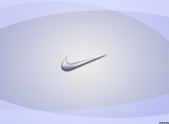Wallpapers Brands - Advertising Nike Logo Aqua