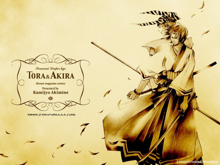 samurai deeper kyo wallpaper. Wallpapers Manga akira amp; tigre