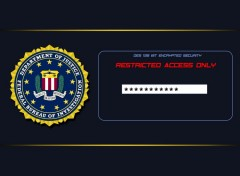 Wallpapers Computers FBI Restricted Access