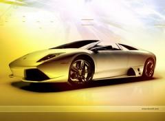 Fonds d'écran Voitures Lamborghini forever by bewall.com