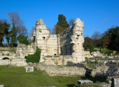 Wallpapers Constructions and architecture Ruines romaines