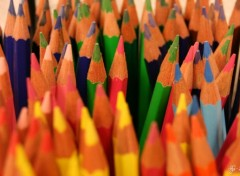 Wallpapers Objects foule de crayons