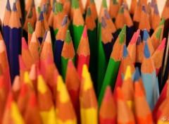 Fonds d'écran Objets foule de crayons