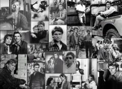 Wallpapers TV Soaps MacGyver Noir & Blanc