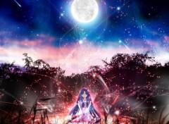 Fonds d'écran Manga Féerique Night