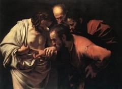 Fonds d'écran Art - Peinture L'incrédulité de St Thomas