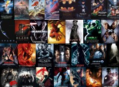 Wallpapers Movies Montage affiche ciné