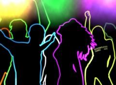 Fonds d'�cran Musique Dancefloor Music Mix