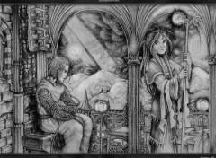 Fonds d'écran Art - Peinture Alzarith & Irzyka