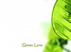 Fonds d'écran Art - Numérique Green Love