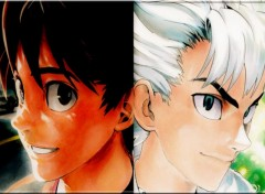 Fonds d'écran Manga sena/riku