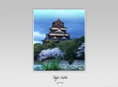 Wallpapers Digital Art Tokyo Castle