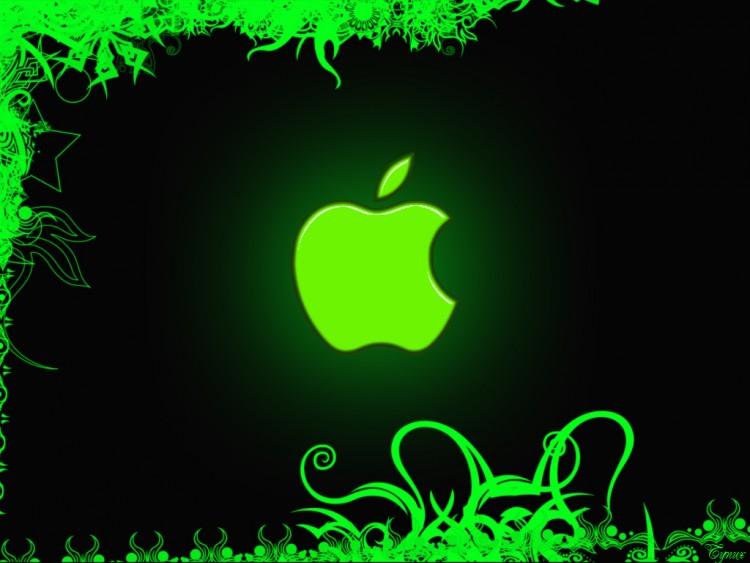 Fonds d'écran Informatique Mac Green Apple