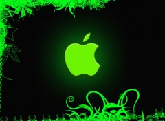 Fonds d'écran Informatique Green Apple