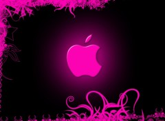 Wallpapers Computers Pink Apple