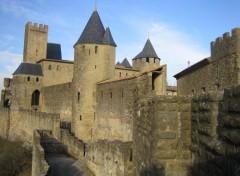 Fonds d'écran Constructions et architecture Remparts de Carcassonne