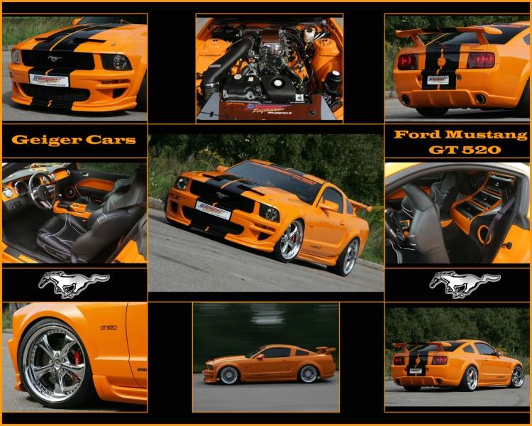 Fonds d'�cran Voitures Mustang Ford Mustang - GT-520 (Geiger Cars 2007)