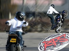 Wallpapers Motorbikes Stunt 3