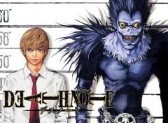 Fonds d'écran Manga Death note
