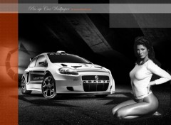 Wallpapers Cars Pin-up Car Wallpaper 2007 by bewall.com