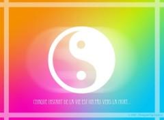 Fonds d'écran Art - Numérique Le ying et le yang