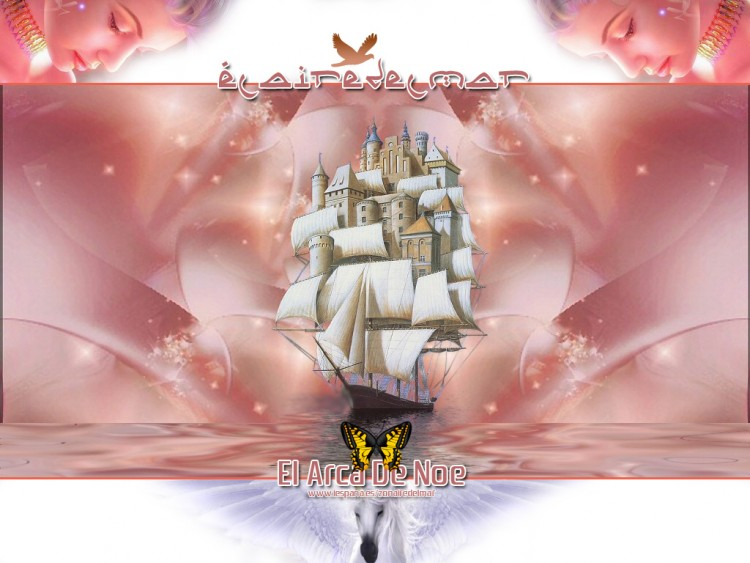 Wallpapers Fantasy and Science Fiction Pirates El Arca de Noe