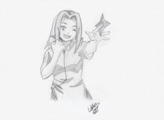 Fonds d'écran Art - Crayon Sakura