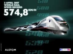 Fonds d'écran Transports divers Le TGV par excellence