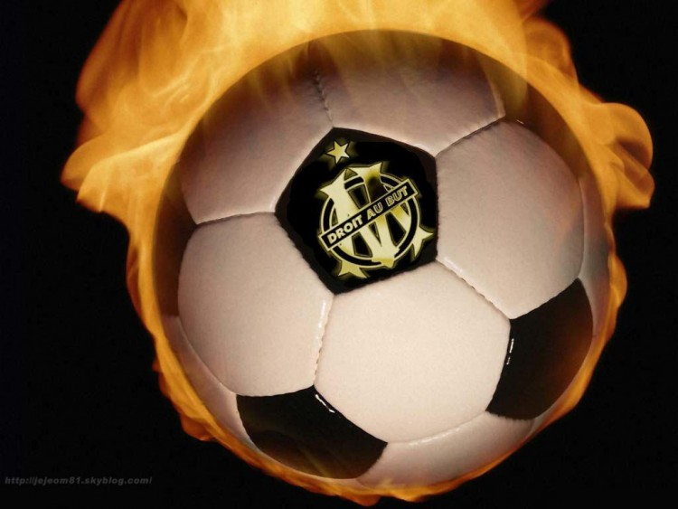 Wallpapers Sports - Leisures Football - OM http://jejeom81.skyblog.com