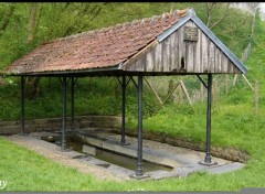 Wallpapers Constructions and architecture Lavoir du Sentier des Sources
