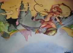 Fonds d'�cran Art - Peinture ile imaginaire