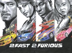 Wallpapers Art - Pencil 2 fast 2 Furious