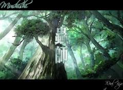 Fonds d'écran Manga Mushishi 03
