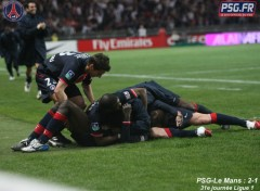 Wallpapers Sports - Leisures psg-le mans
