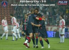 Fonds d'écran Sports - Loisirs PSG-Derry City