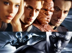 Fonds d'écran Cinéma fantastic four rise of the _silver surfer