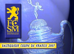 Wallpapers Sports - Leisures FC SOCHAUX VAINQUEUR COUPE DE FRANCE 2007