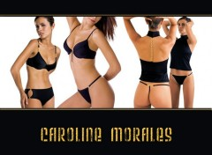 Wallpapers Celebrities Women cali de m6 caroline morales