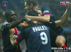 Wallpapers Sports - Leisures psg-lille