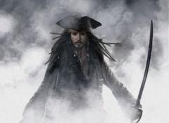 Fonds d'écran Cinéma Jack Sparrow alone
