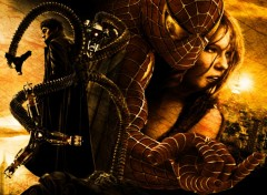 Wallpapers Movies Doc Ock/Spidey/M-J