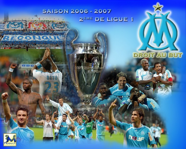 Wallpapers Sports - Leisures Football - OM Saison 2006-2007