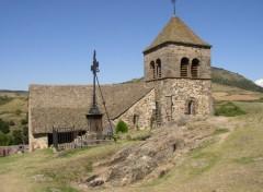 Fonds d'écran Voyages : Europe Eglise Romane du Chastel