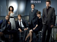 Fonds d'écran Séries TV House cast