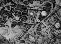 Fonds d'écran Art - Crayon L'Odyssée des Bulles