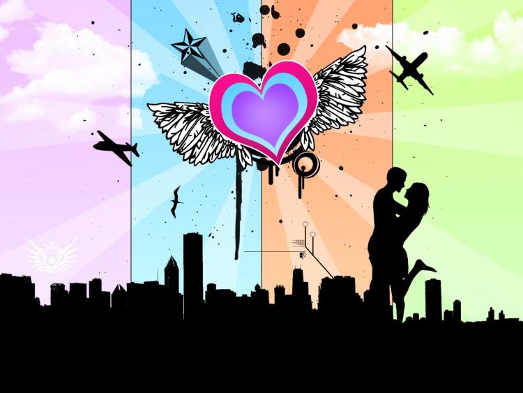 Fonds d'écran Art - Numérique Style Urbain Heartown