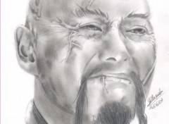 Fonds d'écran Art - Crayon Chow Yun-Fat