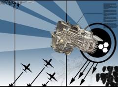 Fonds d'écran Art - Numérique aircraft engine